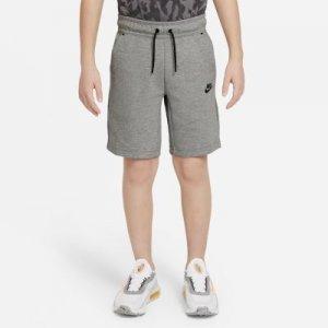 Шорты для мальчиков школьного возраста Sportswear Tech Fleece - Серый Nike