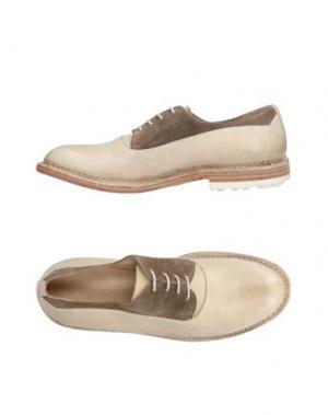 Обувь на шнурках INK. Цвет: бежевый