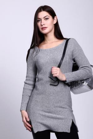 Пуловер Comma. Цвет: серый