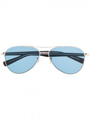 Солнцезащитные очки-авиаторы Paragon Eyevan7285. Цвет: черный