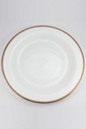 Набор тарелок 28 см, 6 шт. Royal Porcelain Co. Цвет: белый, золотой