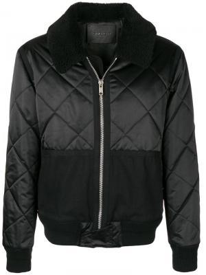 Стеганая куртка-бомбер Givenchy. Цвет: черный
