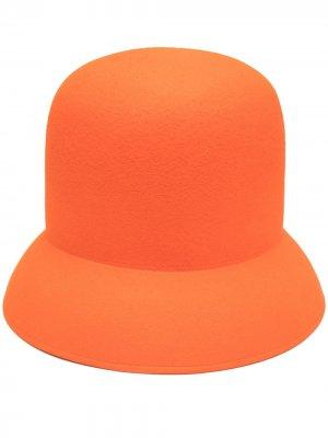 Фетровая шляпа Nina Ricci. Цвет: оранжевый