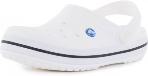 Шлепанцы Crocband, размер 37-38 Crocs. Цвет: белый
