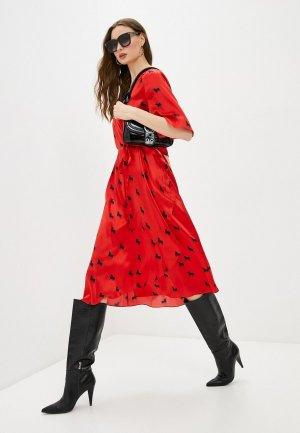 Платье LAutre Chose L'Autre. Цвет: красный