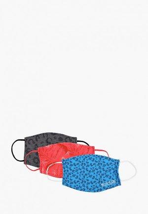 Маски для лица защитные 3 шт. Regatta LifestyleFaceCovr. Цвет: разноцветный