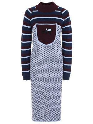 Шерстяное платье GRINKO