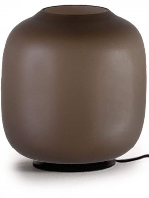 Маленькая настольная лампа Ayra Cappellini. Цвет: коричневый