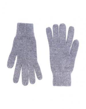 Перчатки SIMON GRAY.. Цвет: серый