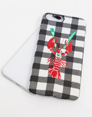 Чехол для iPhone 6/6S/7/8 PLUS с омаром -Красный Skinnydip