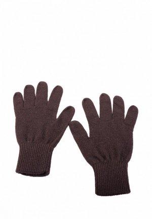 Перчатки John Trigger. Цвет: коричневый
