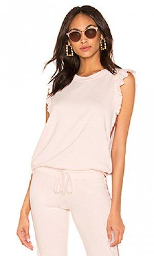 Пуловер David Lerner. Цвет: розовый