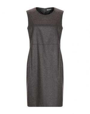 Короткое платье CAPPELLINI by PESERICO. Цвет: светло-коричневый