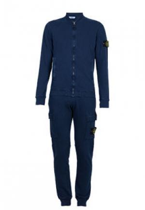 Спортивный костюм STONE ISLAND. Цвет: синий