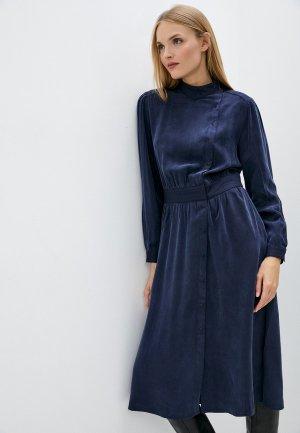 Платье Closed. Цвет: синий