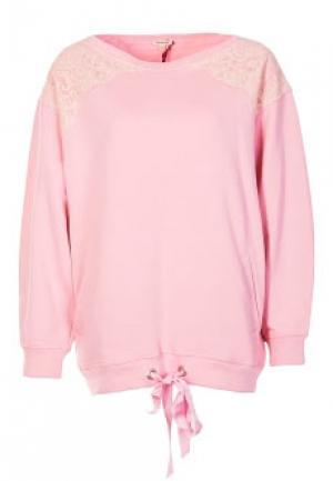 Свитшот P.A.R.O.S.H.. Цвет: розовый
