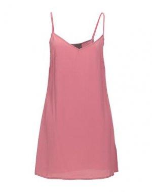 Короткое платье 22 MAGGIO by MARIA GRAZIA SEVERI. Цвет: пастельно-розовый