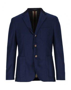 Пиджак BOGLIOLI. Цвет: темно-синий
