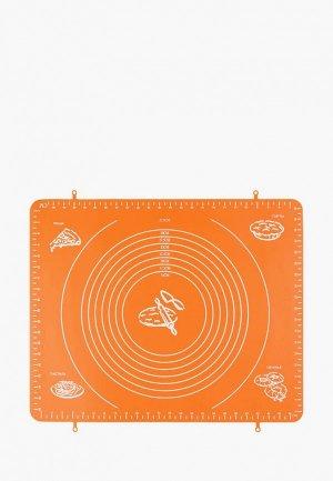 Коврик для запекания Elan Gallery. Цвет: оранжевый