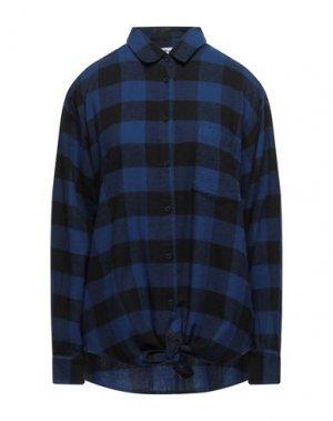 Pубашка CHEAP MONDAY. Цвет: темно-синий