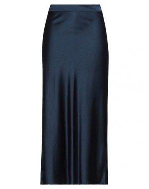 Длинная юбка JEFF. Цвет: темно-синий