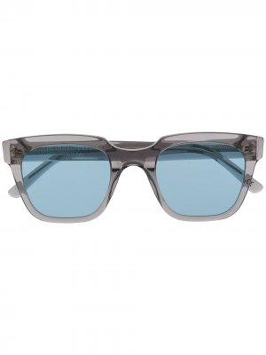 Солнцезащитные очки в квадратной оправе Retrosuperfuture. Цвет: нейтральные цвета