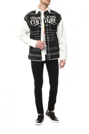 Куртка Versace Jeans Couture. Цвет: белый, черный