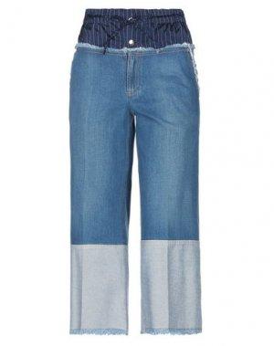 Джинсовые брюки SONIA RYKIEL. Цвет: синий