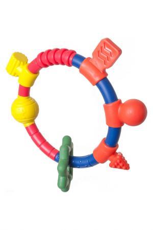 Кольцо- прорезыватель People. Цвет: красный