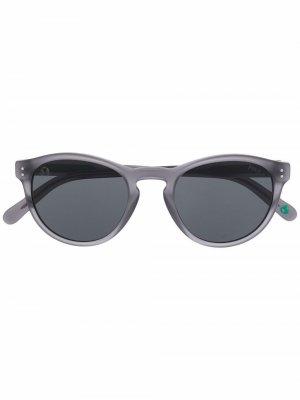 Round frame sunglasses Polo Ralph Lauren. Цвет: серый