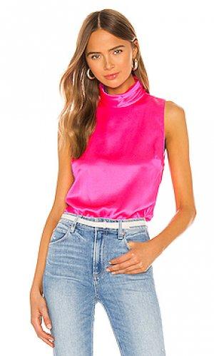 Блузка fleurette Amanda Uprichard. Цвет: розовый