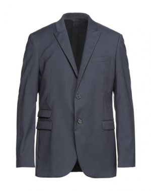 Пиджак NEIL BARRETT. Цвет: темно-синий