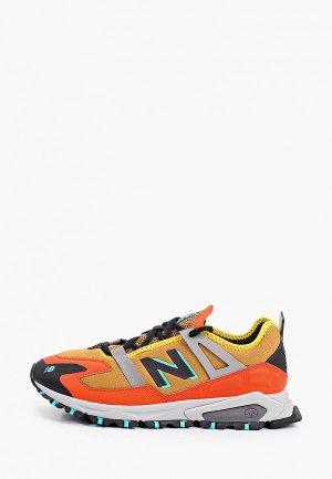 Кроссовки New Balance Xracer. Цвет: оранжевый