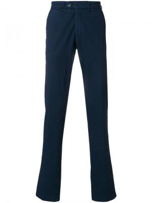 Классические брюки узкого кроя Corneliani
