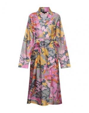 Короткое платье FRACOMINA. Цвет: коралловый