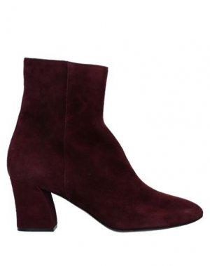 Полусапоги и высокие ботинки GUGLIELMO ROTTA. Цвет: красно-коричневый