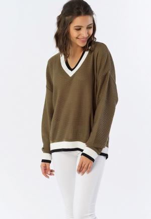 Пуловер Fly. Цвет: хаки