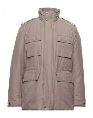 Легкое пальто BROOKS BROTHERS. Цвет: хаки