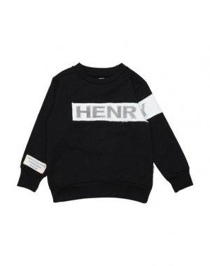 Толстовка HENRY COTTON'S. Цвет: черный