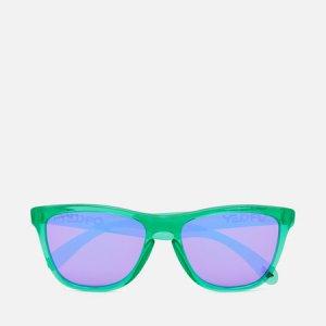 Солнцезащитные очки Frogskins Oakley. Цвет: фиолетовый