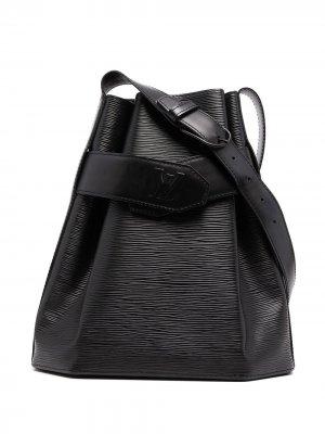 Сумка на плечо Epi Sac Depaule PM 1993-го года Louis Vuitton. Цвет: черный