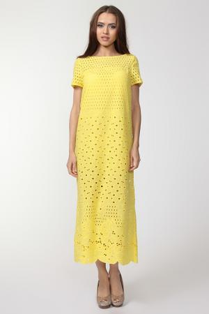 Платье Doctor E. Цвет: желтый