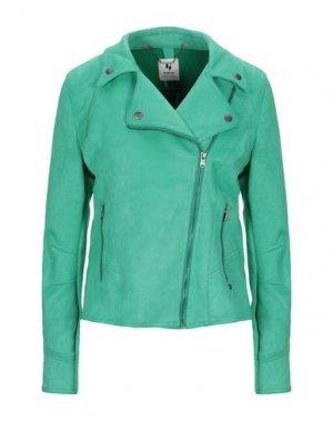 Куртка GARCIA. Цвет: зеленый
