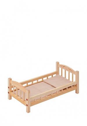 Игрушка Paremo Классическая кроватка. Цвет: разноцветный