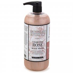 Charcoal Rose Body Wash 975ml Archipelago Botanicals