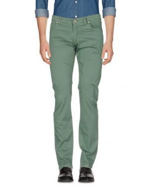 Повседневные брюки ARMATA DI MARE. Цвет: зеленый-милитари