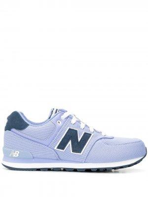 Кроссовки 574 New Balance. Цвет: фиолетовый