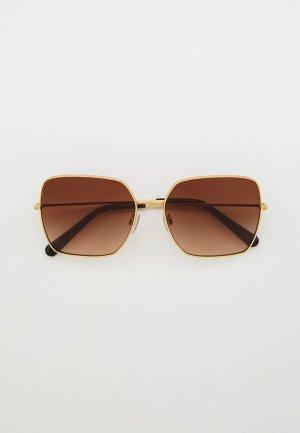 Очки солнцезащитные Dolce&Gabbana DG2242 02/13. Цвет: золотой