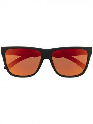 Солнцезащитные очки Lockdown с затемненными линзами Smith. Цвет: черный