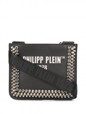 Philipp Plein сумка через плечо с заклепками и логотипом